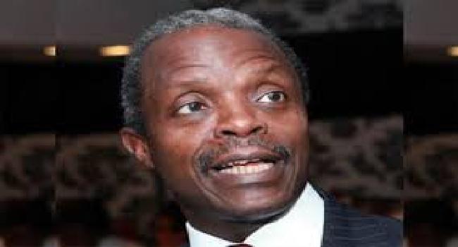 Osinbajo Advocates Joint Efforts In Tackling Insurgency