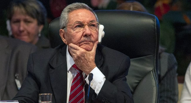 US Imposes Sanctions On Raul Castro Over Human Rights Violations