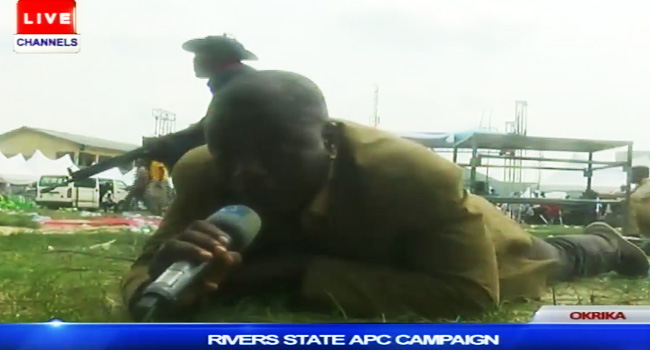 APC Rally Disrupted By Gunfire, Hoodlums Stab Channels TV Staff
