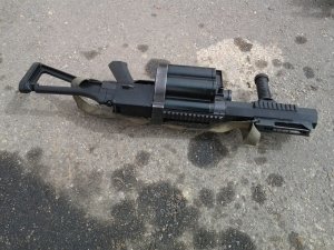 Another machine gun recovered from the terrorists