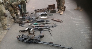 Boko Haram arms at Borgozo-Alargano