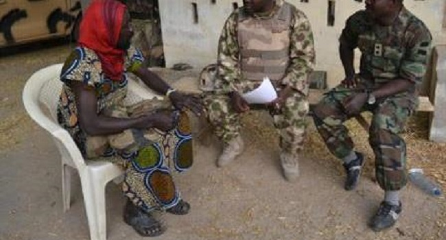 Military Arrests Terrorists Disguised As Women In Baga