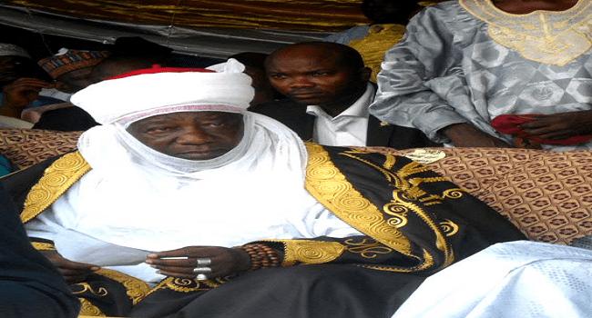 Emir Of Ilorin Receives General Buhari