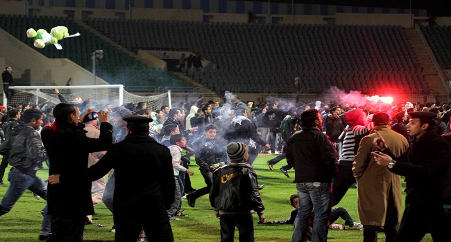 Egyptian league To resume, Fans Denied Entry