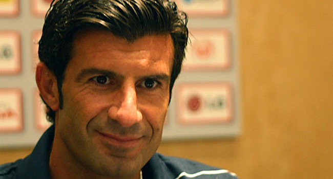 Luis Figo Launches His Manifesto For FIFA Presidency