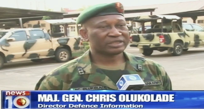 Heightened Fight Against Insurgency Is Not Just For Elections – Olukolade