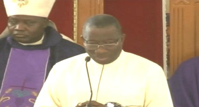 No Intention  For Interim Government, Jonathan Tells Bishops