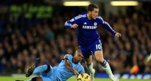 Chelsea's Hazard Plays Down Transfer Rumours