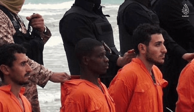 Watch The Video As Muslim Terrorist Attacks Christians