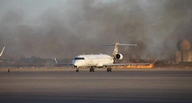 Libya Crisis: Warplane Strikes At Zintan Airport