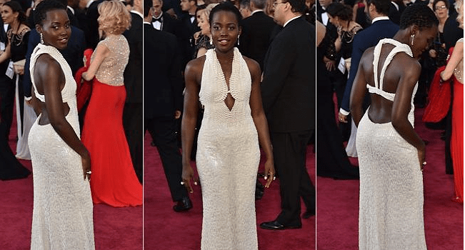 Lupita Nyong'o's Pearl-studded Oscars Dress Stolen
