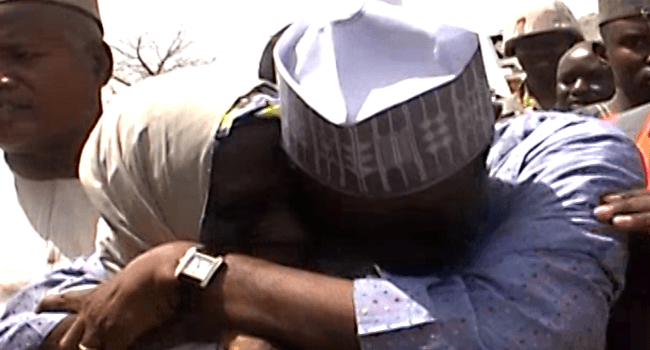 Minister Weeps On Meeting Victims Of Boko Haram In North-east