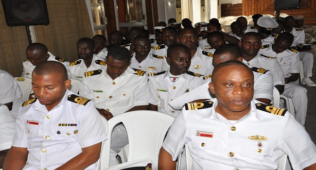 Navy Holds Capacity Training For Officers On Maritime Laws