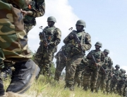 A file photo of Nigerian soldiers in action