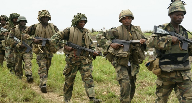 Nigerian soldiers fighting Boko Haram get special promotion
