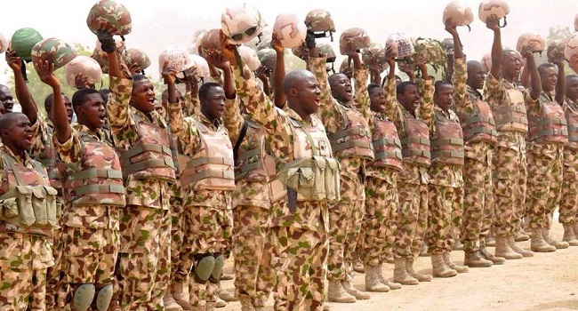 Lafiya Dole Troops Celebrate Armed Forces Remembrance Day