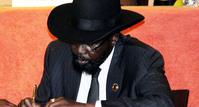 South Sudan's Warring Sides Sign Another Ceasefire Deal