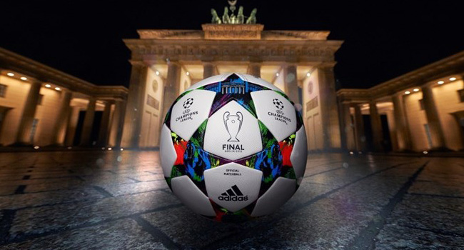 UEFA Champions League Final Match Ball Revealed