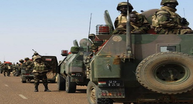 West African Allied Forces Invade Sambisa Forest