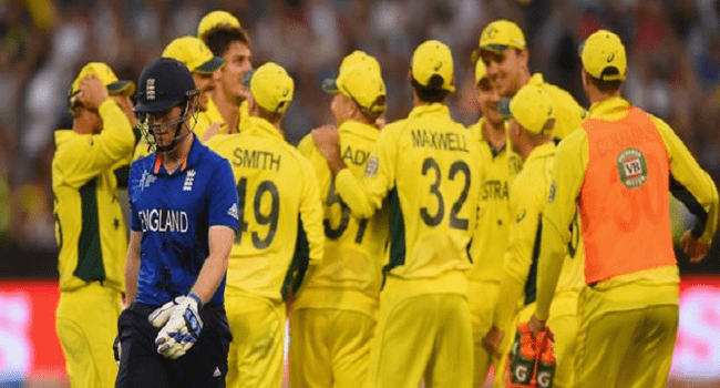 Australia Beat England At Cricket World Cup