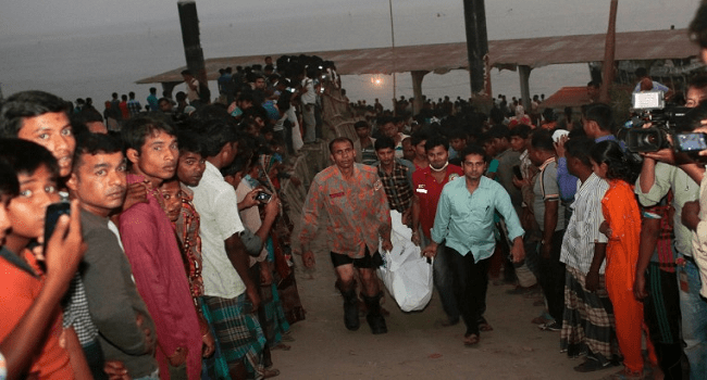 Scores Dead In Bangladesh Ferry Collision