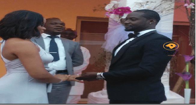 Chris Attoh & Damilola Adegbite's Val's Day Wedding