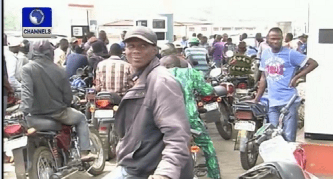 DPR Dispenses Free Petrol In Kaduna