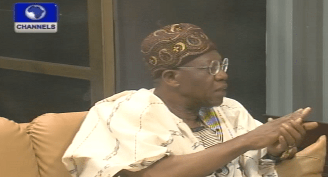 PDP Not Ready For Election – Lai Mohammed