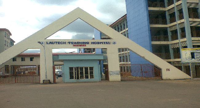 LAUTECH Teaching Hospital Resident Doctors Protest Non Payment Of Salaries