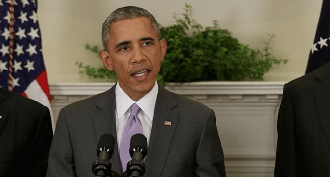 Obama Commends Buhari, Jonathan