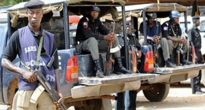 police parade, Suspected Militants