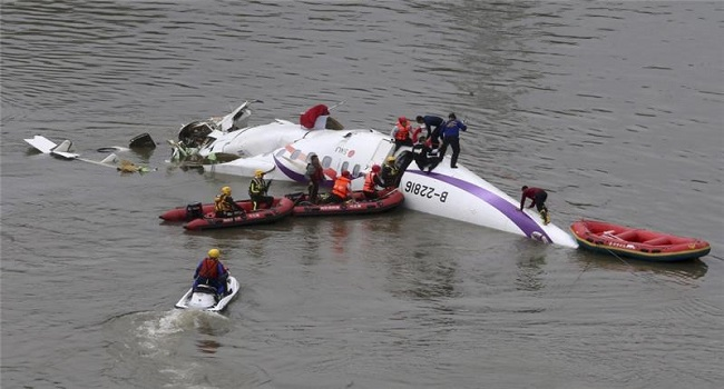 Russian Military Plane Crashes In Black Sea