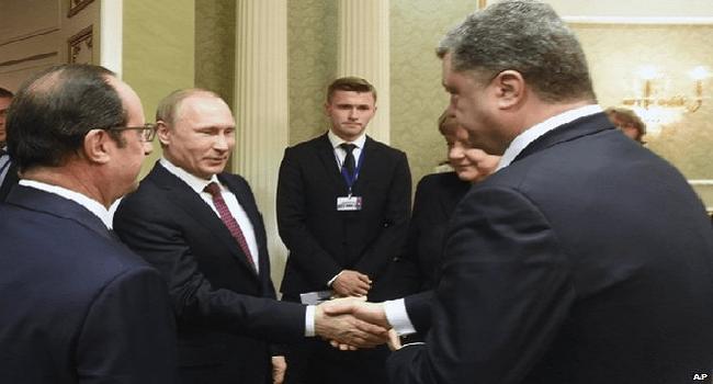 Putin Announces Ceasefire Deal With Ukraine