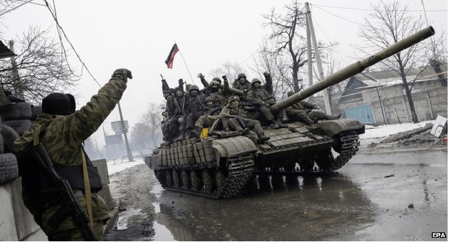 Ukraine Crisis: Rebels Agree On Weapon Pullout Date