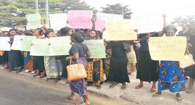 Owerri: Journalist Injured In Widows' Protest