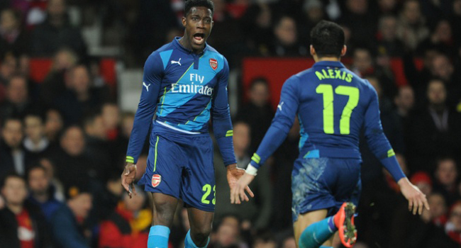 Arsenal Beat Man United In FA Cup