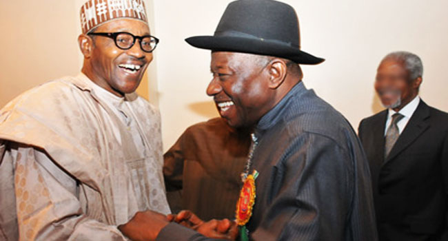 Jonathan, Buhari Sign Another Peace Accord