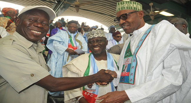 Buhari: It's A New Dawn- Oshiomhole