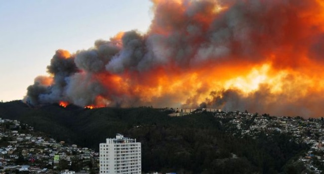 Chile Forest Fire: One Dead, Thousands Evacuated