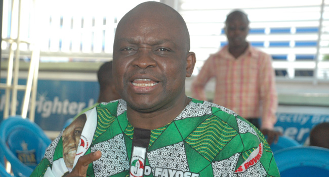 Fayose Won't Stop Saying The Truth On Buhari, APC – Aide
