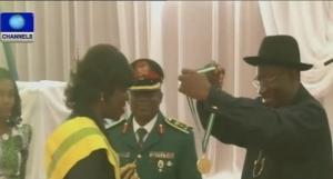 Goodluck Jonathan gives 168 former corps members jobs