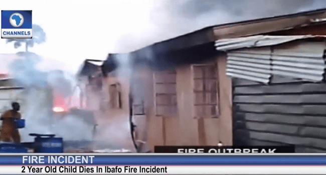Two-Year Old Dies In Ibafo Fire Incident