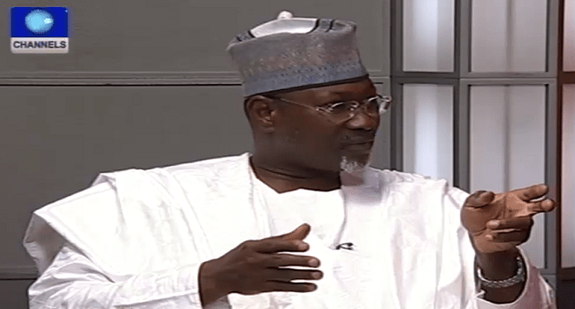 Jega Confident Logistic Challenges Will Be Cut Off During Polls