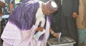 Namadi Sambo Voting