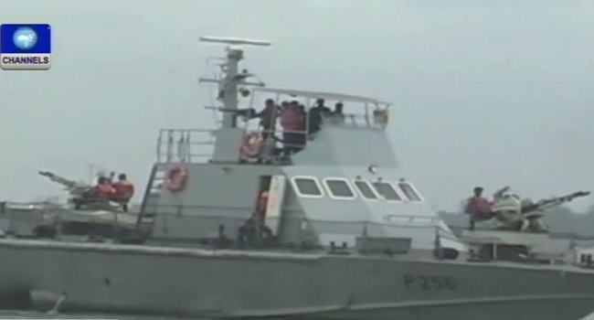 Navy Arrest Ship, Crew In Delta State