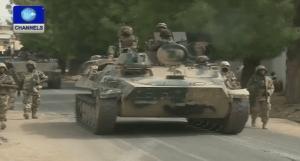 Nigerian troops in North-east