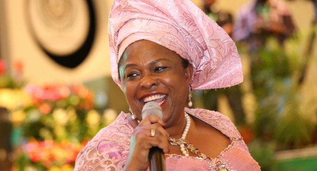 Patience Jonathan Takes Campaign To Oyo State