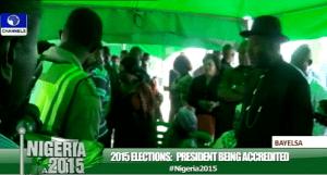 President Goodluck Jonahtan accreditation