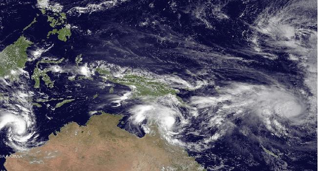 Cyclone Pam Causes Destruction In Vanuatu Islands