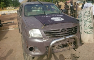 Vehicle recovered from Boko Haram Fuel supplier
